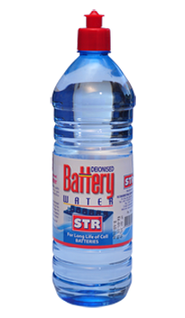 STR Battery Water