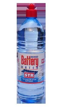 STR Battery Water